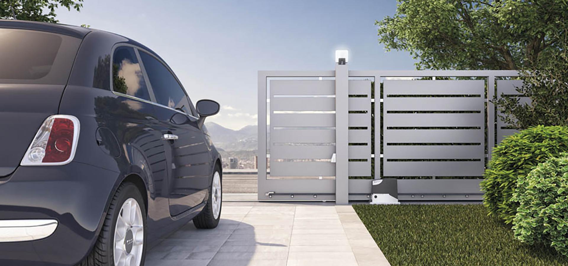 Cloture en aluminium